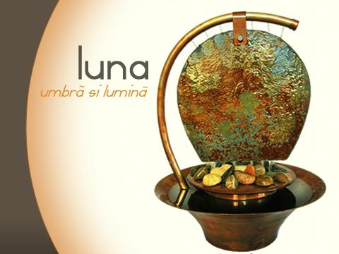 Fantana decorativa de apartament - Fantana LUNA